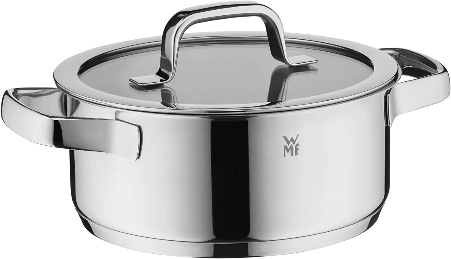 WMF Washington Mall Compact Cuisine Cooking Pot 20 2.5 Free shipping on posting reviews Stewing Lid Glass cm