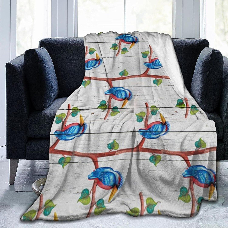 Tawetori Bird Tree discount White Wooden Ranking TOP18 Blanket Soft Throw Board