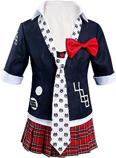 NoryNick Enoshima Junko - Disfraz de cosplay para Halloween, carnaval, falda uniforme, altura 110 cm - 155 cm
