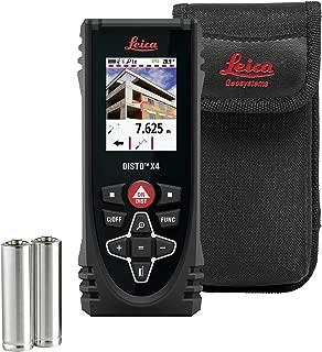 Leica DISTO X4 - Rugged Laser Distance Meter (Catalog 855138)