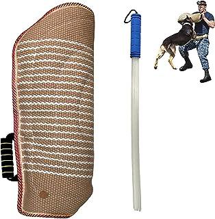 Sleeve Dog Training Arm Protection, Durable Strong Jute Training Equipment, Fit Pit Bull German Shepherd Mastiff, Puppy Sm...
