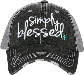 Katydid Simply Blessed Women's Trucker Hat