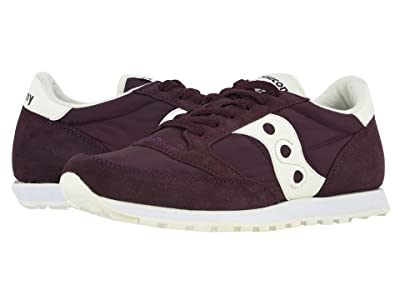 Saucony Originals Jazz Low Pro (Maroon/Sand) Men