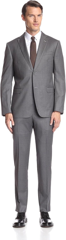 Z Zegna Men's Pinstripe Notch Lapel Suit