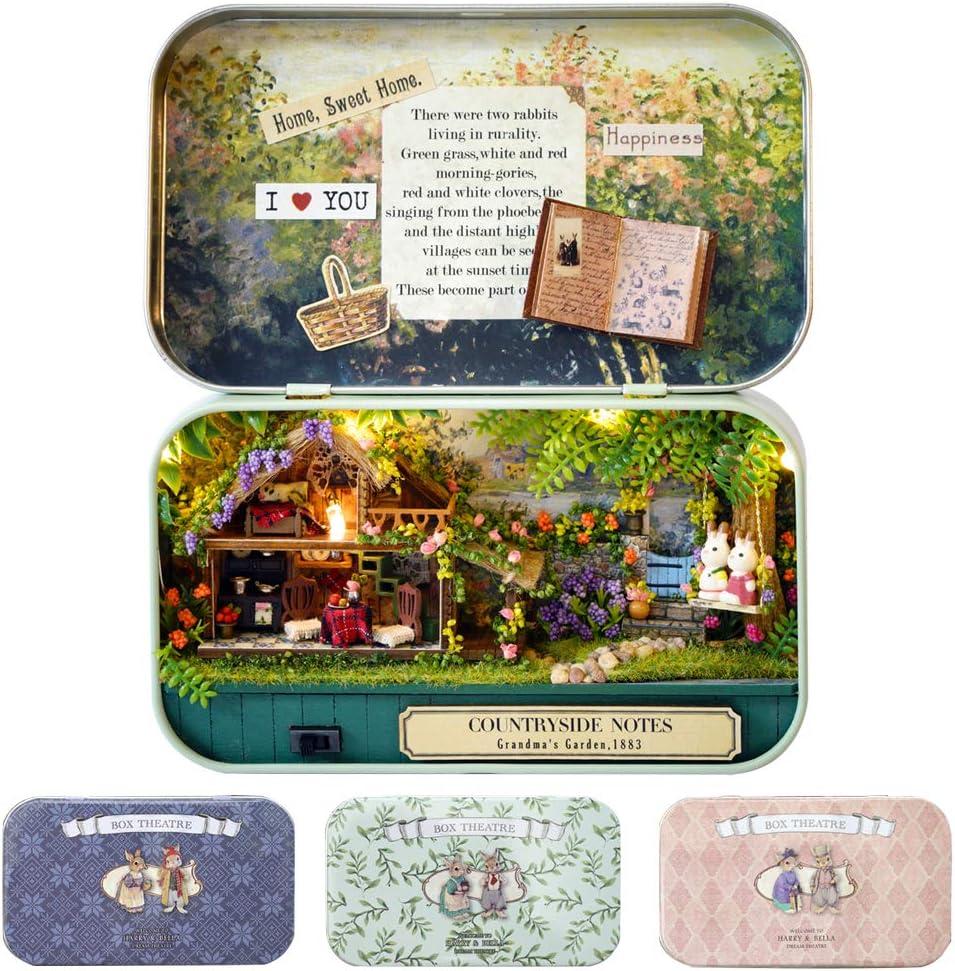 CUTEBEE Box Theatre Japan Maker New Sales Doll House Furniture DIY Dol 1:24 Miniature