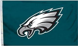 Fremont Die NFL Philadelphia Eagles 3` x 5` Flag with Grommets, 3 x 5-Foot, Logo