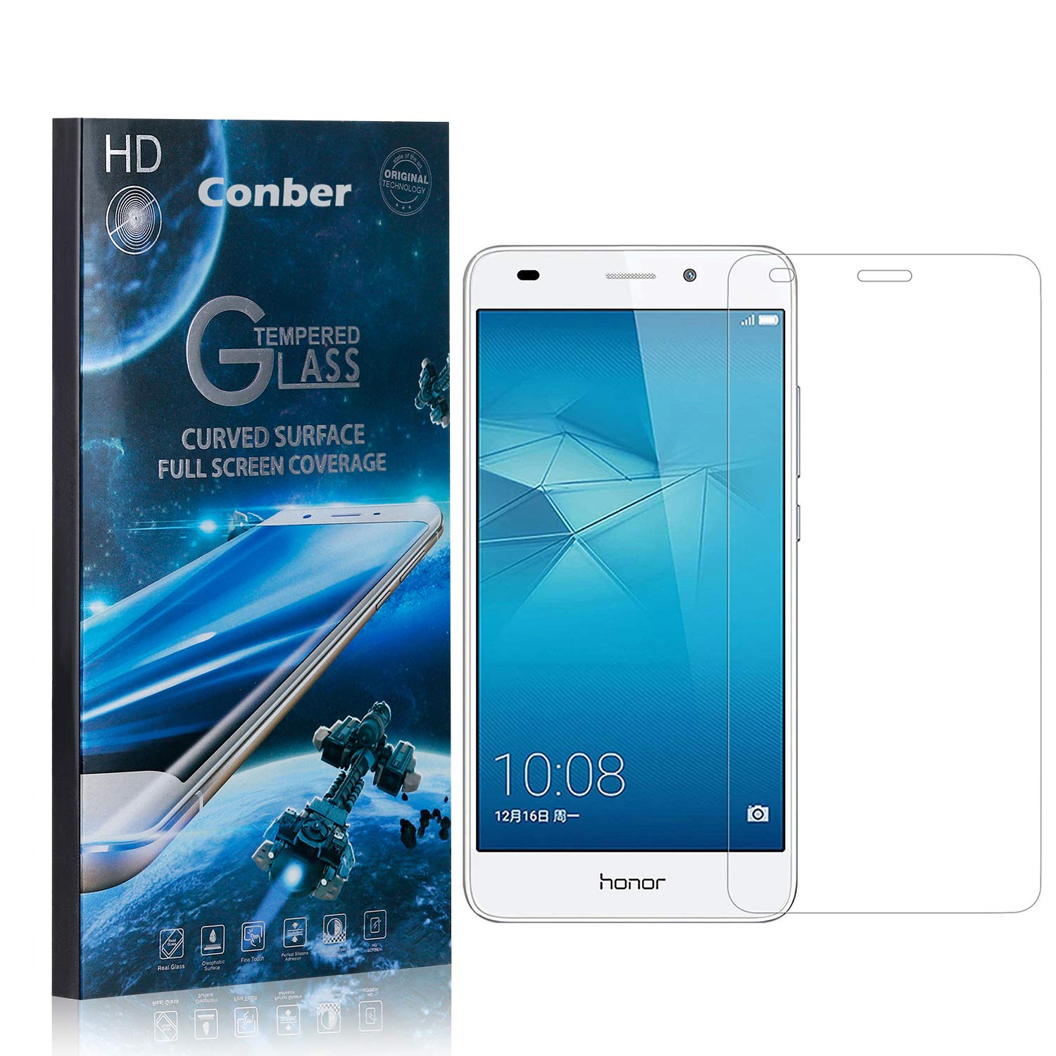 Conber Super Special SALE held 1 Pack Screen Protector Scratch-R Honor 5C Lowest price challenge Huawei for