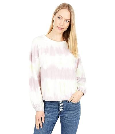 Sanctuary Perfect Sweatshirt (Pink Lime Tie-Dye) Women