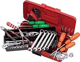 京都機械工具(KTC) 工具セット 片開きプラハードケースタイプ SK34010PS