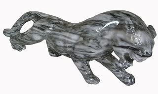 Tibetan Snow Lion/Carved Marble