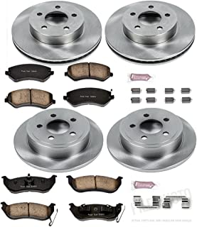 Autospecialty KOE2162 1-Click OE Replacement Brake Kit