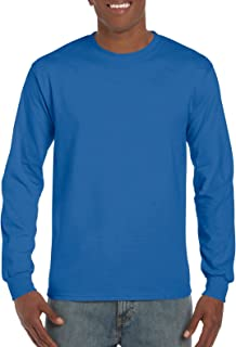 Gildan Men's Ultra Cotton Long Sleeve T-Shirt, Style G2400