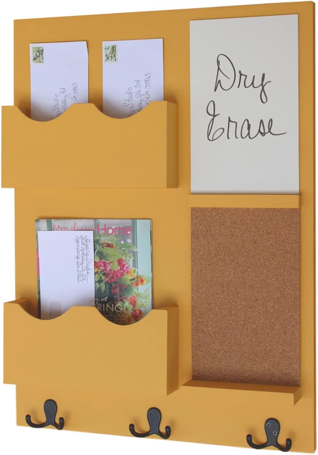 Legacy Studio Decor Limited time sale Mail Outstanding Organizer H White Board Coat Cork