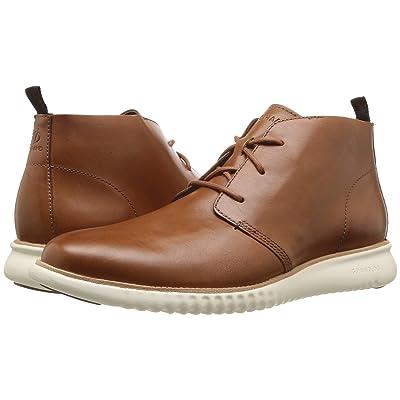 Cole Haan 2.Zerogrand Chukka (British Tan Leather/Ivory) Men