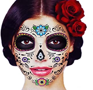 Best half face skull tattoo Reviews