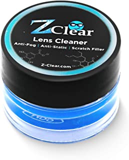 Z Clear Wax Paste Anti Fog for Glasses and Goggle Defogger for Outdoor Sports and Scuba Accessories - Safe on All Lenses