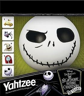 USAOPOLY Yahtzee The Nightmare Before Christmas 25 Year Anniversary, Yahtzee Dice Game, Jack Skellington Merchandise