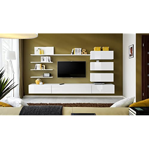 TV Wall Units For Living Room: Amazon.co.uk