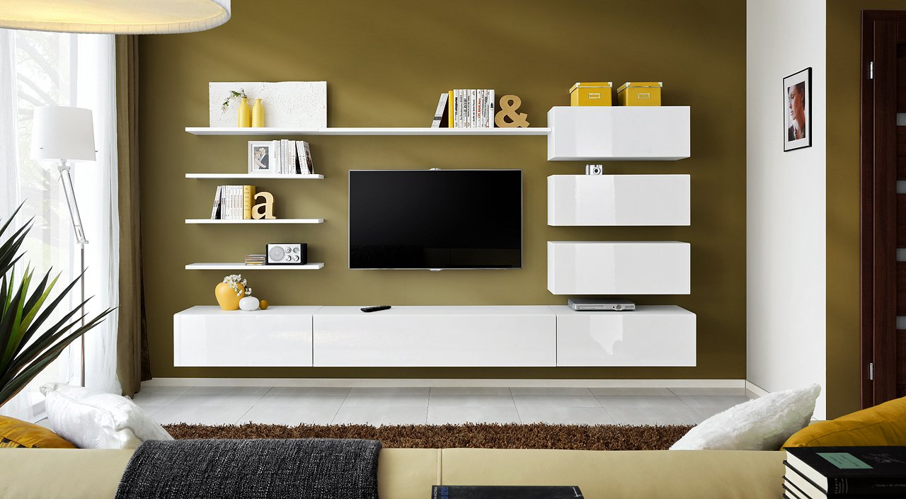 tv wall units for living room amazon co uk rh amazon co uk  tv wall unit with bookshelves