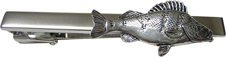 Kiola Designs Perch Fish Square Tie Clip