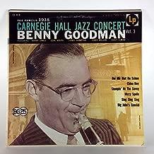 Best benny goodman carnegie hall vinyl Reviews