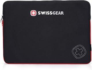 جراب واقي فائق النحافة من سويسجير لأجهزة الكمبيوتر المحمول Dell XPS وDell Inspiron 2 في 1 15.6 بوصة Swiss Gear - أسود