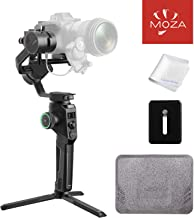 MOZA AirCross 2 Stabilizer 3-Axis Handheld Lightweight Powerful Gimbal for Camera Up 7Lb Intuitive Control Panel Intelligent Features Advanced Shooting Modes 12h Battery Life Beyond Your Imagination