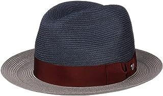 Lierys Cappello di Paglia Twotone Hemp Donna/Uomo - Made in Italy Cappelli da Spiaggia Sole Traveller con Nastro Grosgrain...