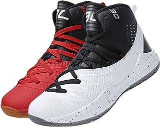 comprar comparacion SINOES Hombre Zapatillas de Baloncesto Calzado Deportivo Al Aire Libre Moda High-Top Sneaker Antideslizante Zapatillas de ...