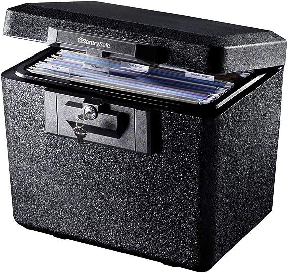 SentrySafe 1170 Fireproof Box with Key Lock