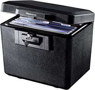 SentrySafe 1170 Fireproof Box with Key Lock 0.61 Cubic Feet