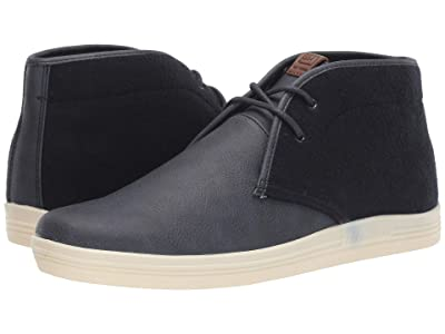 Ben Sherman Payton Chukka (Navy Wool/PU) Men