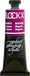 Blockx Magenta Oil Paint, 35ml Tube