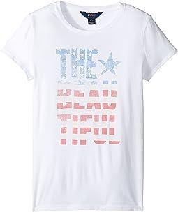 Cotton Jersey Short Sleeve Graphic Tee (Little Kids/Big Kids)