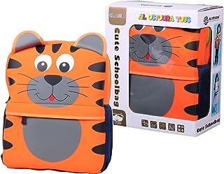 AL OSTOURA TOYS Cute School Bag Kindergarten Backpack Animal Neoprene Multicolor