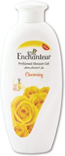 Enchanteur Charming Perfumed Shower Gel for Women, 250g with Roses, Muguets & Cedarwood Extracts