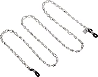 Corinne McCormack Women's Silver Ribbed Links Chain Cases, NA, 0 mm