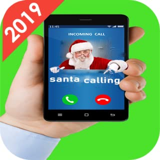 fake text message :A Video Call From Santa Claus