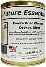 1 Can of Future Essentials Freeze Dried Cooked Diced Chicken