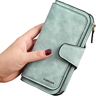 Retro Multiple Slots Women Wallets Long Design Lady Fashion Wallets Large Capacity Leather Clutch Wallet Card Holder Organ...