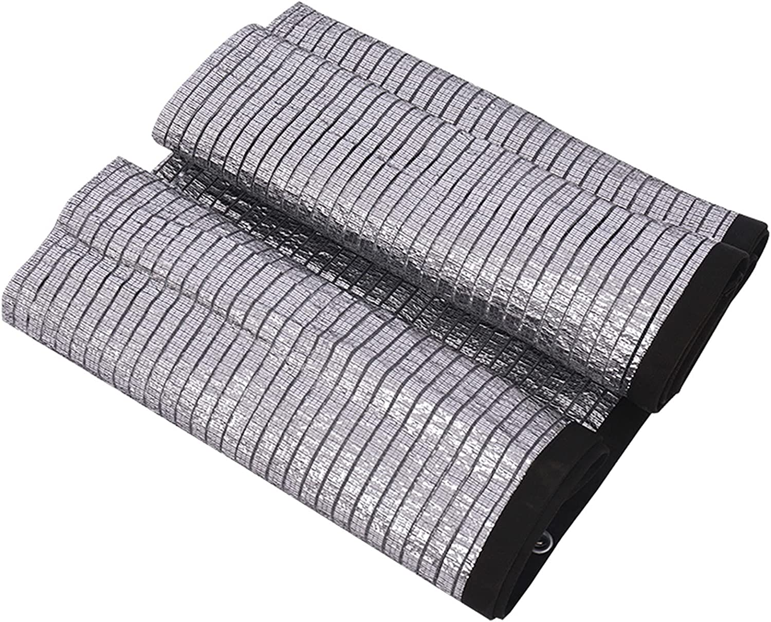 Limited time for free shipping Shade Cloth Rapid rise Reflective Aluminet Silver Rectangle Sunblock Sunsc