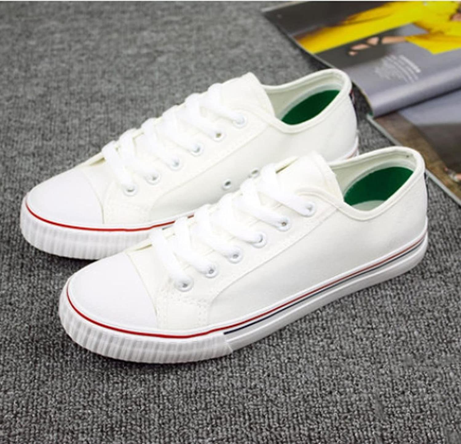 XUEXIN Canvas shoes with female students at the end of the summer and autumn flows lower breathable casual shoes