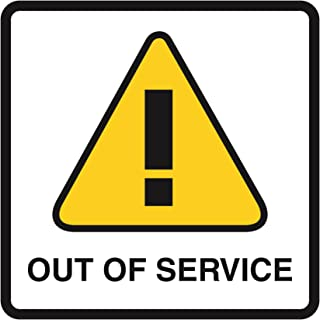 out of service sign