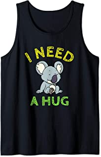 I Need A Hug Cute Koala Bear Lover Gift Tank Top