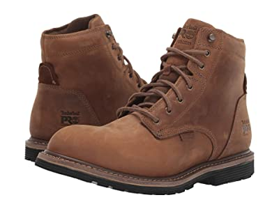 Timberland PRO Millworks 6 Soft Toe Waterproof (Brown Gaucho) Men