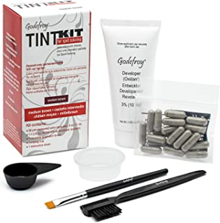 Godefroy Professional Hair Color Tint Kit, Medium Brown, 20 Applications