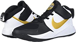 Black/Metallic Gold/White