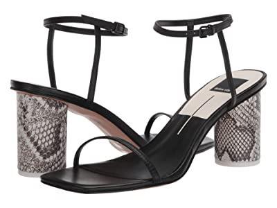 Dolce Vita Naomey (Black Embossed Lizard) Women