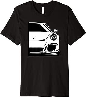 Automotive Apparel 911 Retro German Tuning Sport Car Gaming Premium T-Shirt