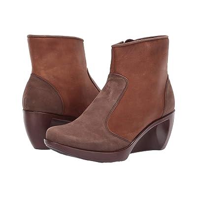 Naot Sky (Carob Brown Leather/Saddle Brown Leather) Women